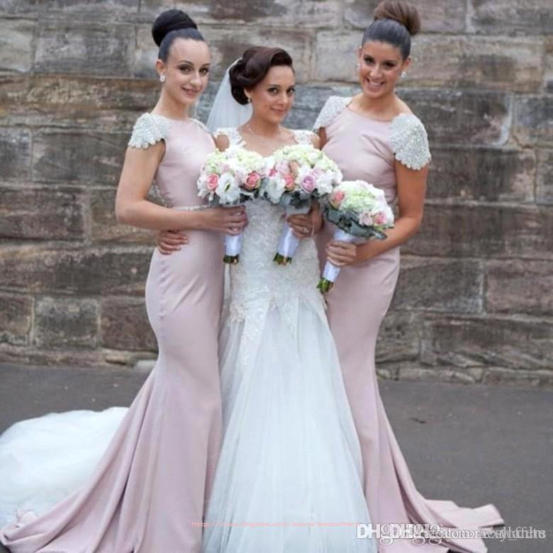 Bridesmaid Dresses with Trains