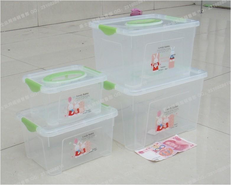 2018 Transparent Plastic Storage Box Food Grade Mini Storage Box
