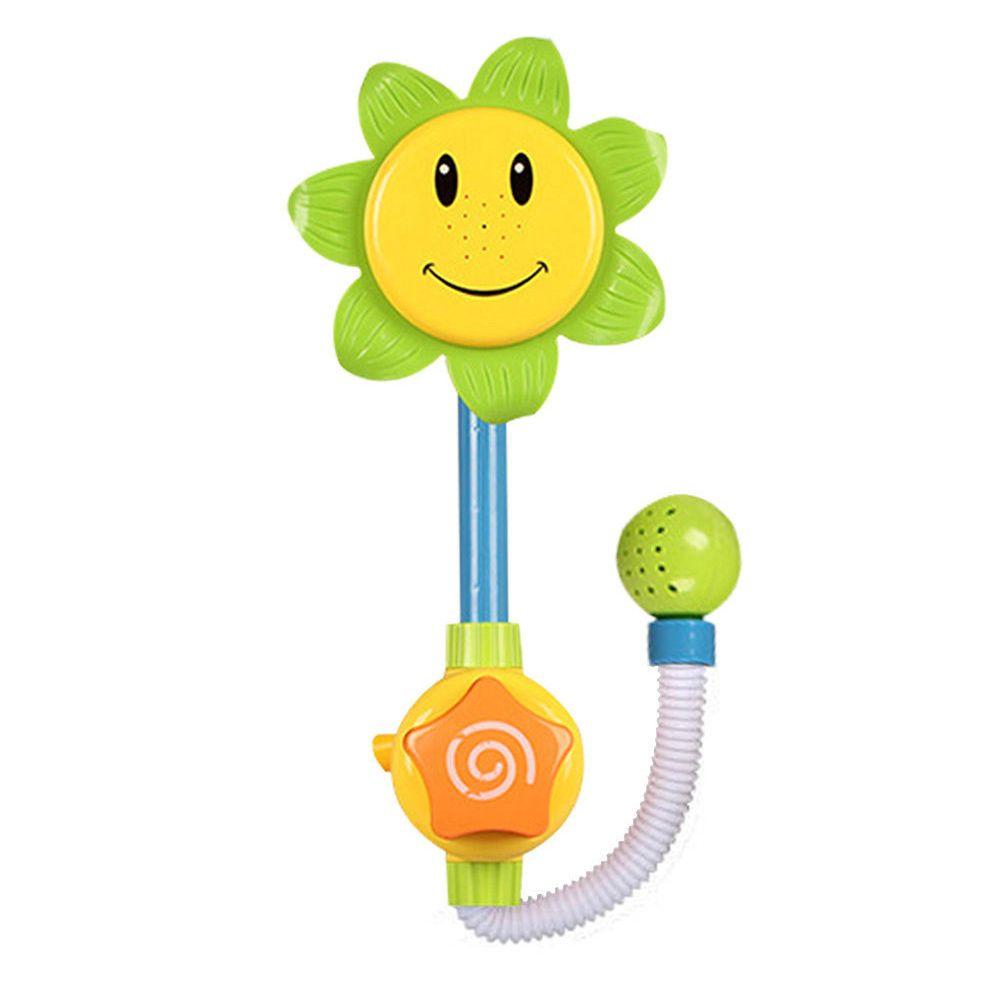 Wholesale Color Random Baby Bath Toys Sunflower Shower Faucet Bath ...