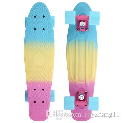 2019 New Cheap Penny Board Penny Skateboard Pink Blue ...