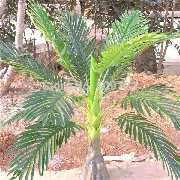 Superieur Large 86CM Latex Wedding Home Outdoor Floor Patio Sago Decor Artificial  Phoenix Coconut Palm Plant Tree Foliage Green FL1715 Palm Tree Artificial  Plant Tree ...
