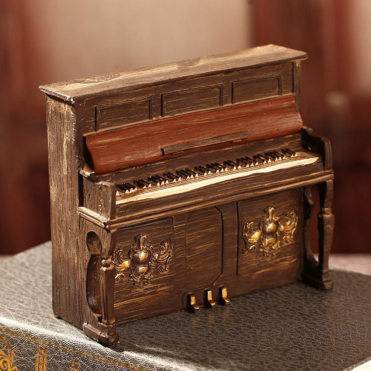2018 Zakka Home Decoration Accessories Craft Bar Decoration Vintage Home  Decor Style Piano Modal Crafts 16*6*14 Cm From Kaixinxiaohua, $16.06 |  Dhgate.Com