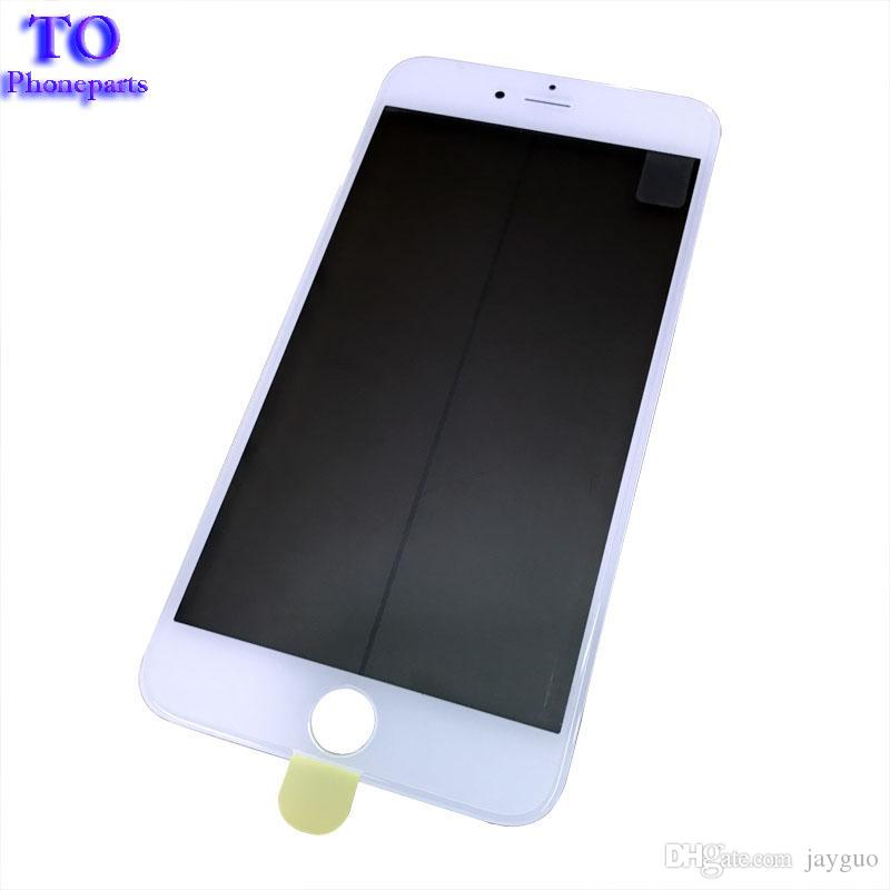 Free DHL LCD Screen Front Outer Glass Lens + Frame Bezel and OCA Film Pre-installed for iPhone 6 Plus 6S 7 Plus