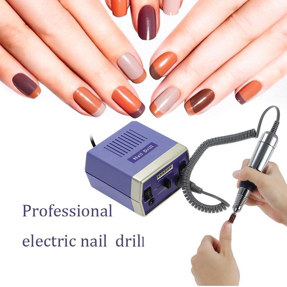 Pro 220 240v Electric Nail Drill Machine Nail Art Salon Manicure ...