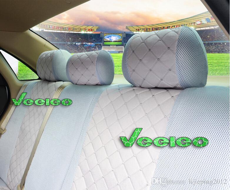 Veeleo Universal Sitzbezug für TOYOTA Corolla Camry Rav4 Auris Prius Yaris Avensis mit Silk Meterial + Logo + Wholesale + Free Verschiffen