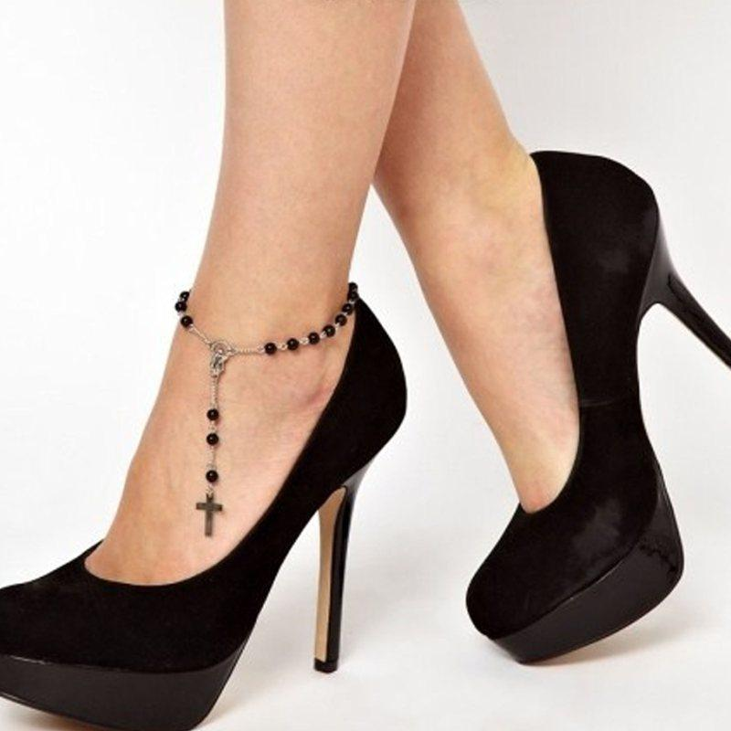 ankle chain hugerect in anklet bracelet a anklets jewelry love handmade for women product gold