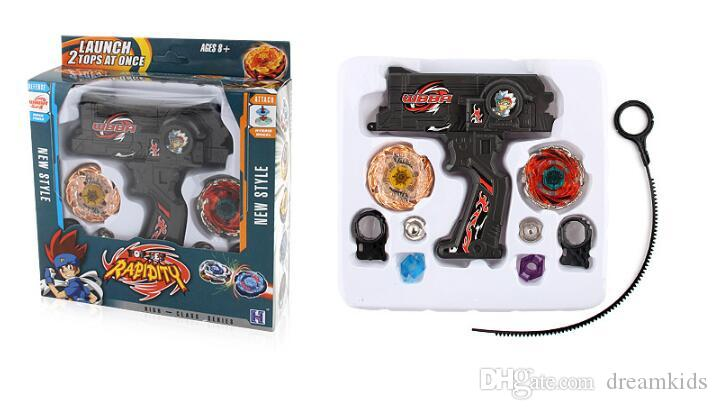 New Clash Beyblade Metal Fusion Plastic Beyblade Spinning Tops/Gyro Set Beyblade Spin Top Toy