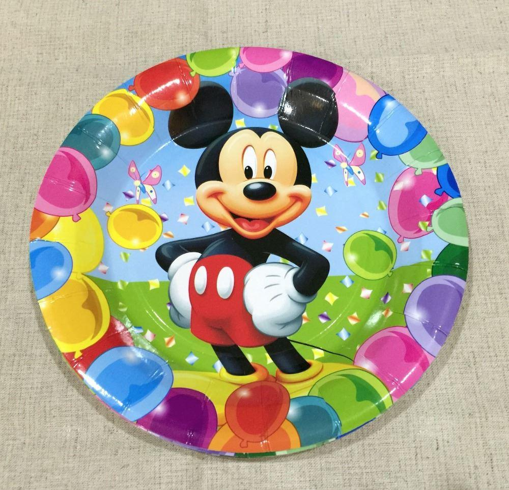 2018 7 Mickey Mouse Paper Plates Kids Birthday Party Decoration Kits Plates Mickey Mouse Festa Party Supplies 0601005 From Yingyingxiaoyu $26.56 | Dhgate. & 2018 7 Mickey Mouse Paper Plates Kids Birthday Party Decoration Kits ...