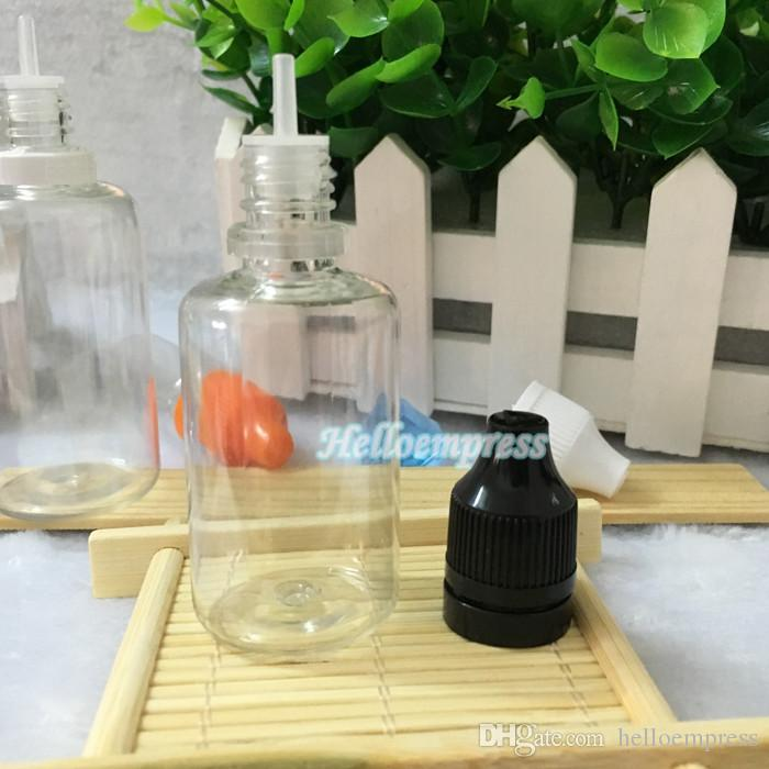 Top Selling 30 ML PET-fles Aluminium Plastic Nieuwste Schroefdop Kinderbestendig Tamper Cap Huisdier Clear 30 ML Druppelflessen