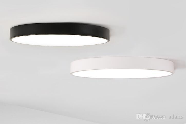 Lampade Da Soffitto A Led Moderne : Acquista plafoniere da soffitto a led ultrasottili 60 cm