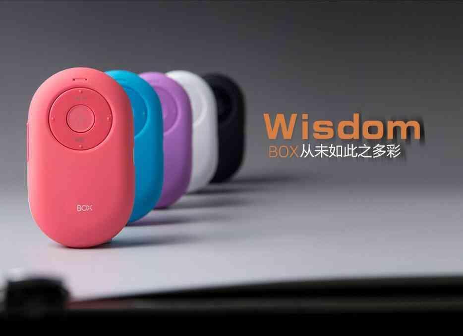 Tragbarer Mini-Bluetooth-Lautsprecher, Freisprechfunktion, drahtlose Kamera-Fernauslöser-Lautsprecher für iPhone / iPad / iPod / Samsung