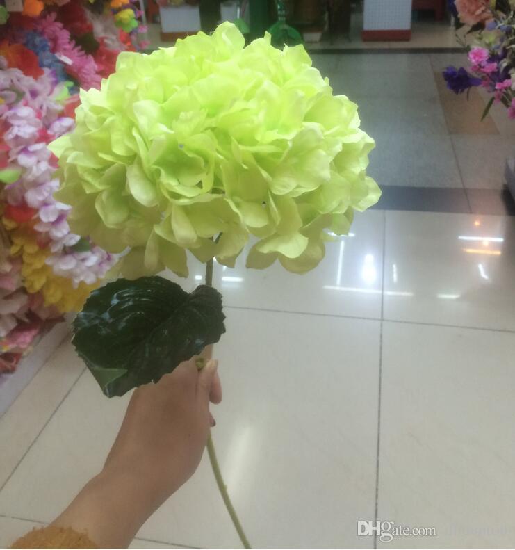 Künstliche Hortensie Blume 80cm / 31,5
