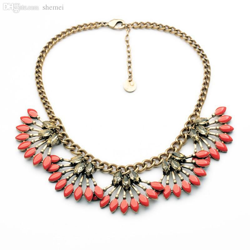 wholesale coral cay necklace stella high fashion n457c dot exotic
