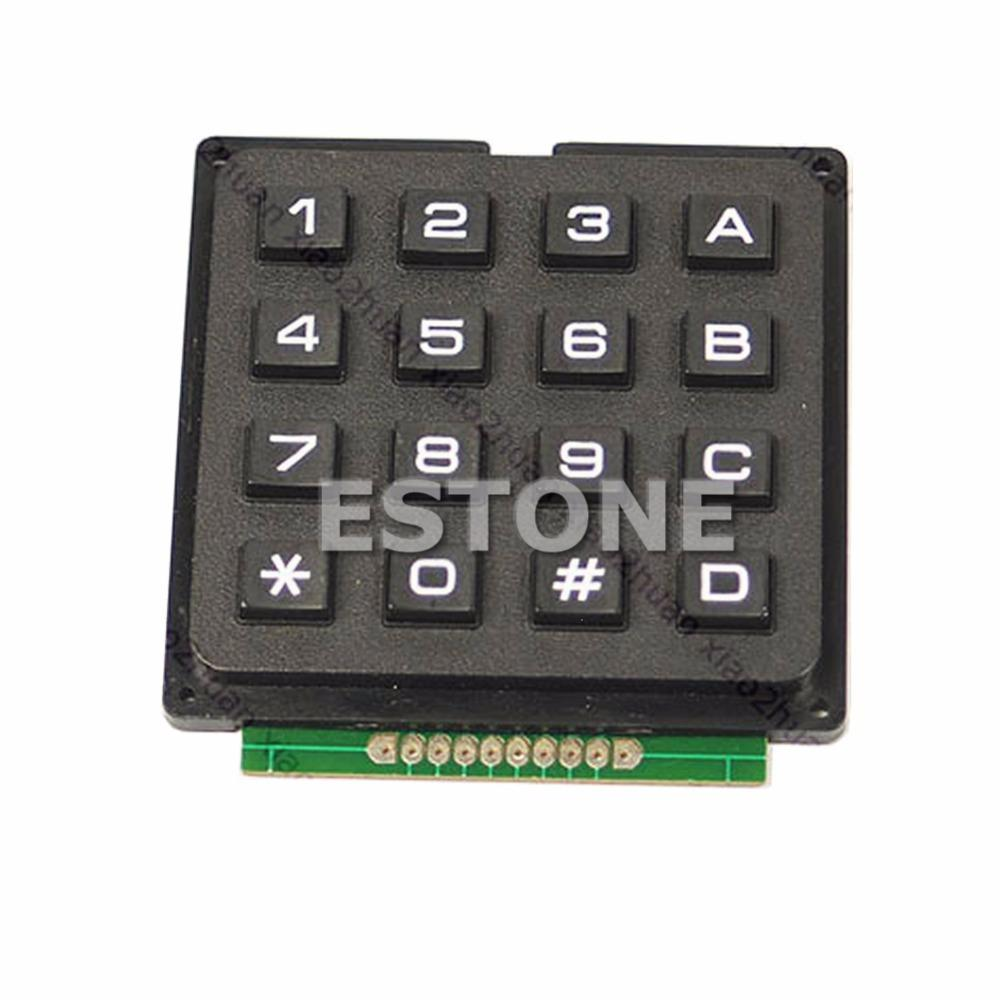 Free Shipping New 16 4x4 Matrix Keyboard Keypad Use Key AVR PIC Stamp Sml  order<$18no track