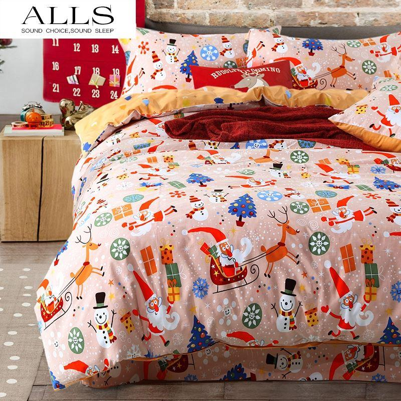 Christmas Duvet Cover/Christmas Quilt Cover Bedding Set/Bed Sheets ...