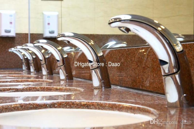 intergraded cold&hot Automatic Faucet public faucet battery auto faucet auto tap