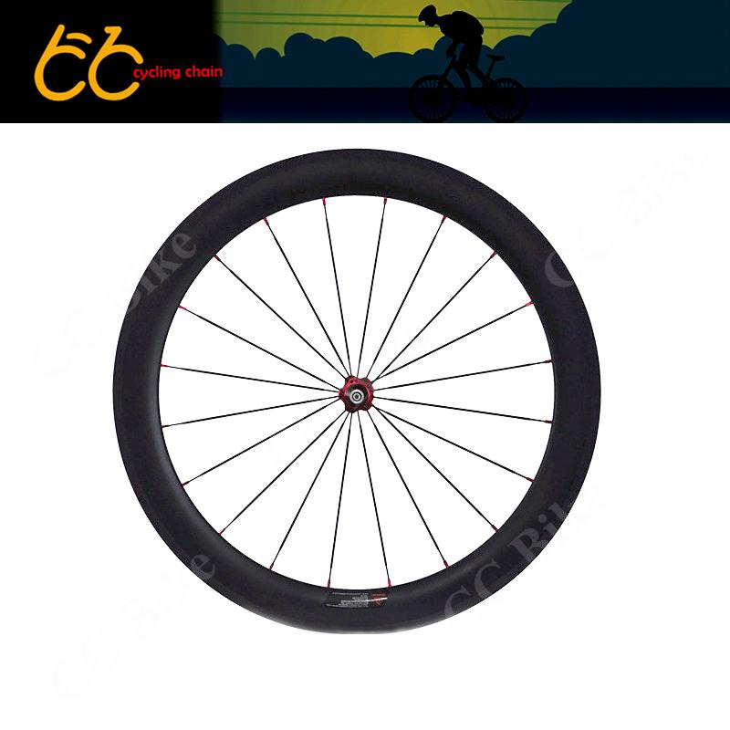 d5f6a2f1b71 Free Shipping23mm Wideth of High Quality 60mm Clincher Carbon front ...