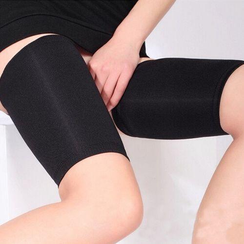 b645a1087d9 Leg Shaper WOMEN 2 SLIMMING BLACK LEG BELT BAND TONING CONTROL ...