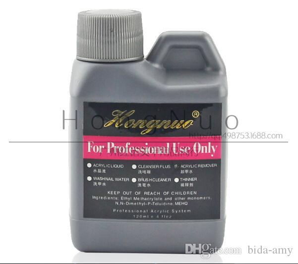 Professionelle 3 x 120ml Acrylflüssigkeit für Nail Art Tips Falsch Maniküre Set Tool