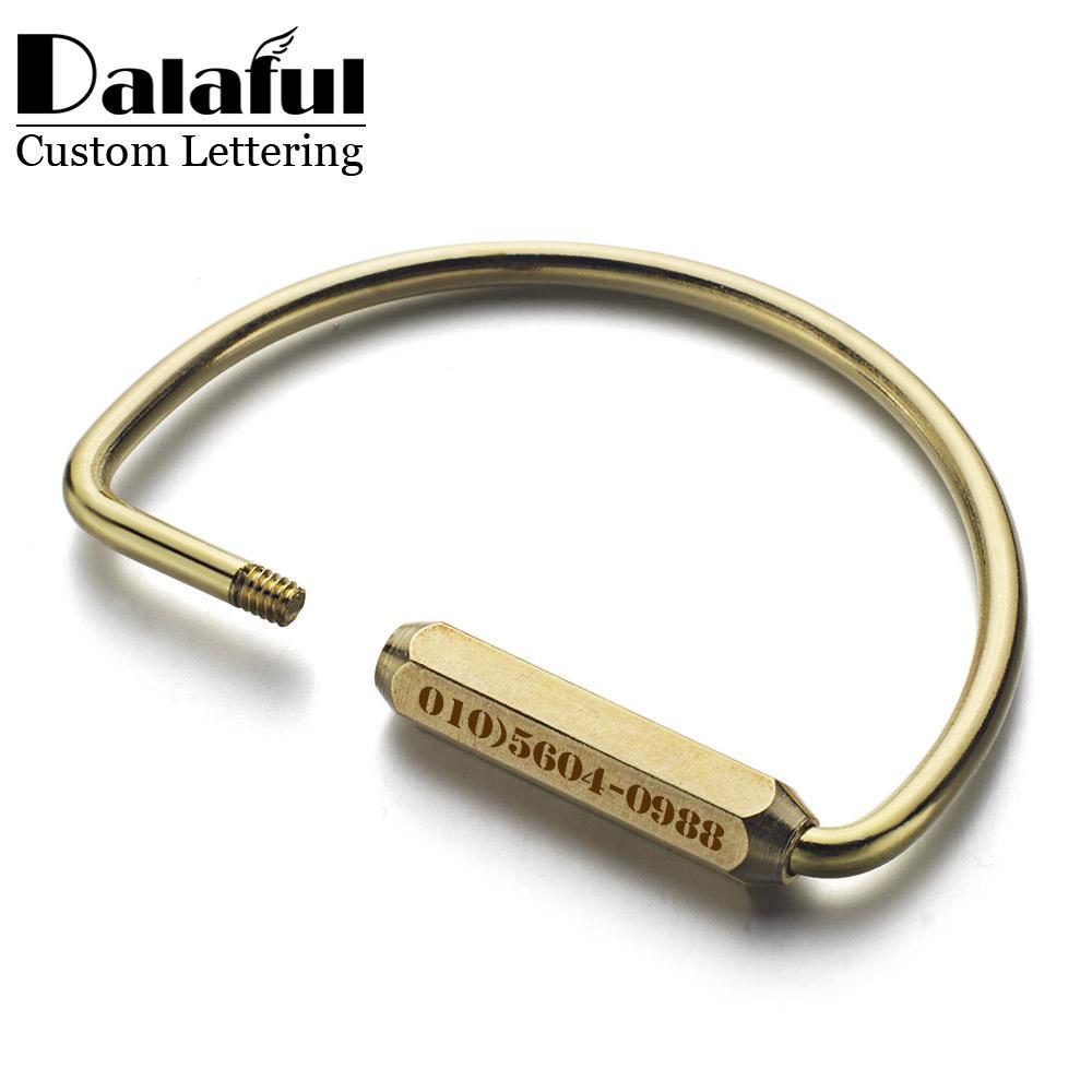 2019 Beijia Custom Lettering Keychains Unisex Pure Handmade Copper Keyrings  Simple Brass Car Key Chain Ring Holder Men Women K353 From Beijia2013 7ec79c4af0