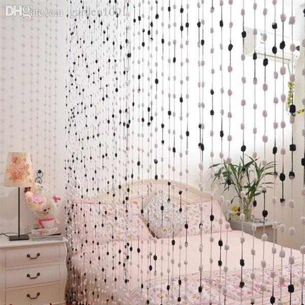 Ct 05l 300x300cm Bead Curtain Room Divider Thread Curtains Children Kids  Room Decorative Curtain Window Screen Blinds Draperies French Country  Curtains ...