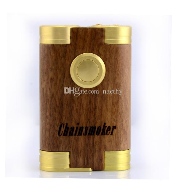 Chainsmoker Mod Machanical Mods Dual 510 Thread Box Mods Support Dual 18650 Battery Dual Huge Vapor RDA Atomizer E Cigarettes DHL Shipping