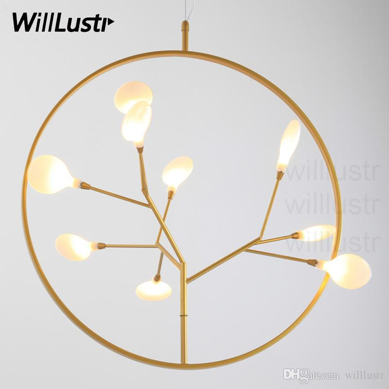 Modern Sakura Flower Pendant Light Led Snowflake Light Art Deco Cubism  Design Dinning Room Restaurant Hotel Firefly Suspension Lighting  Contemporary Pendant ...