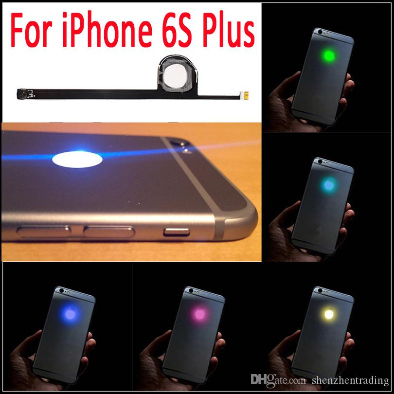 purchase cheap 515bd 9181d For iPhone 6S Plus flashlight glowing Logo DIY Luminescent LED Light Logo  Mod Kit Glowing Logo light up Mod for iPhone6S Plus