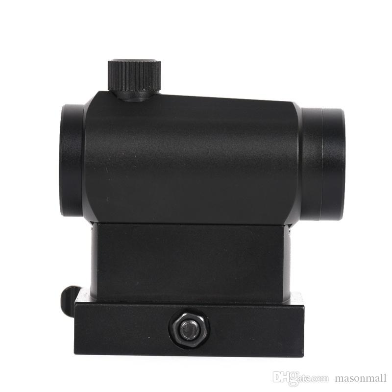 New Arrival Outdoor Optical Sight Tactical Mini Micro Reflex Red Dot Scope Sight with QD Quick Riser 20mm Mount For Hunting