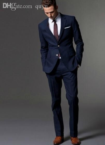 Best Wholesale Light Beige Linen Suits Beach Wedding Tuxedos For ...