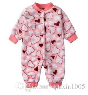 7b40fee0488 2019 Newborn Baby Winter Clothes Baby Boy 0 1 Year Old Pure Cotton Extra  Thick Warm Body Clothes Pajamas Autumn Winter From Qiuxin1005