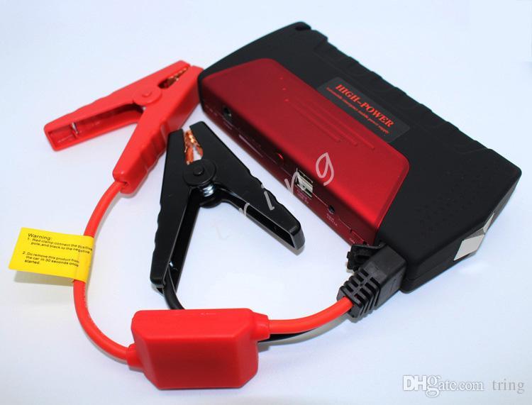 Аварийный автомобиль Jump Starter бензин Мгновенный запуск для 12В автомобиля многофункциональный автомобильный аккумулятор батареи 50800 мАч для автомобиля / мотоцикла / цифровой