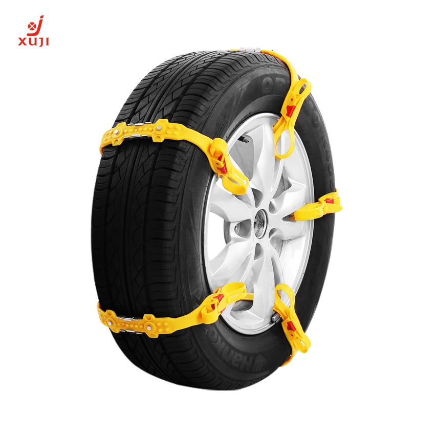 Car Snow Tire Anti Skid Chains Simple Installation Tpu Chain Classic