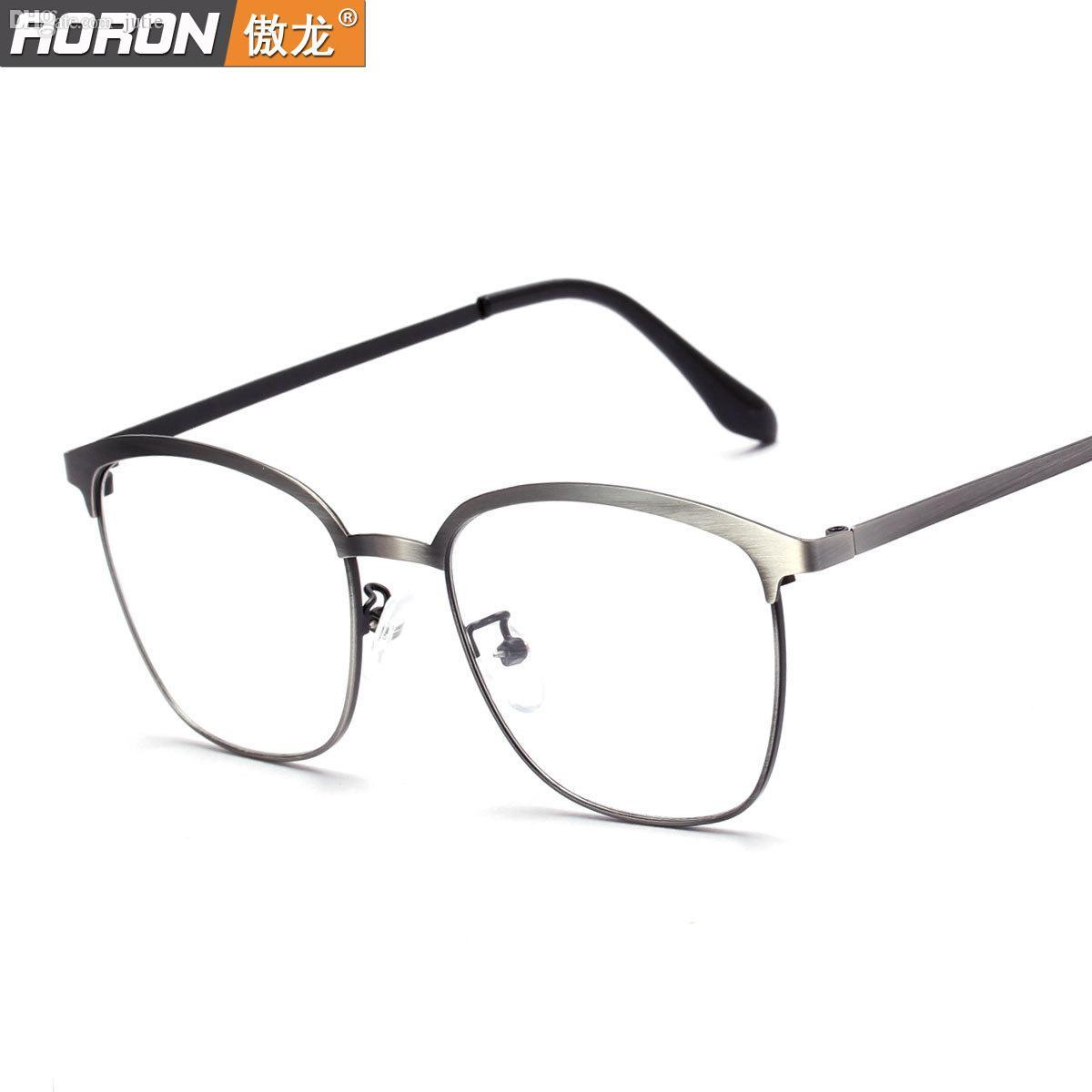 Wholesale-Elegant Oversized Eyeglass Frames Female Vintage Metal The ...