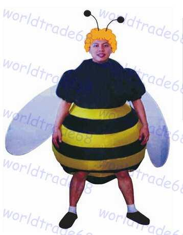 adult halloween party costumes inflatable bee costumes batter fan blow up suits one size halloween themes for work dogs halloween costumes from worldtrade68 - Bee Halloween