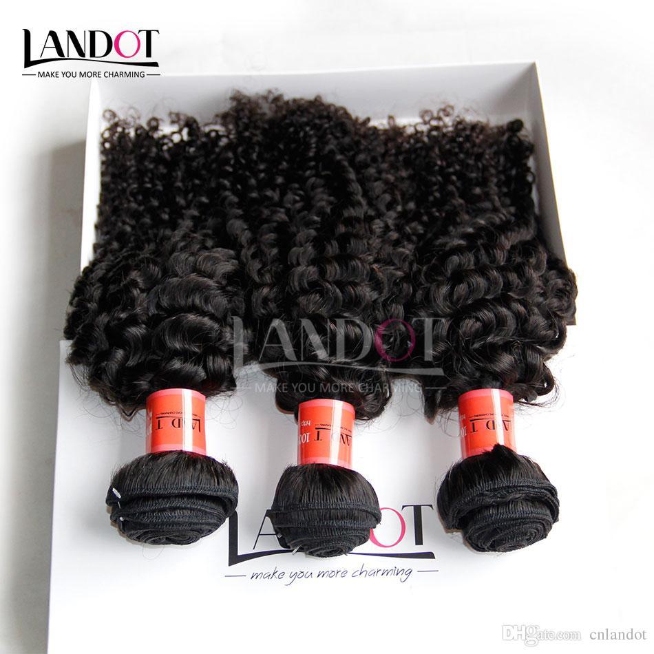 3 шт. лот 8-30 дюймов бразильский кудрявый вьющиеся девственные волосы класс 7A необработанные бразильские человеческие волосы плетение пучки естественный черный расширения Dyeable