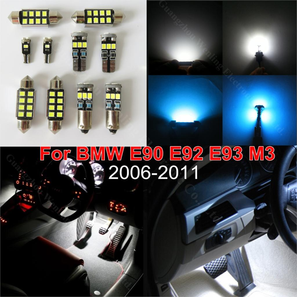2018 Canbus Car Led Reading Courtesy Trunk Interior Lighting Pack Kit For Bmw  E90 E91 2006 2010 Sedan Coupe 328i 335i M3 330i From Wljh, $20.06 |  Dhgate.Com