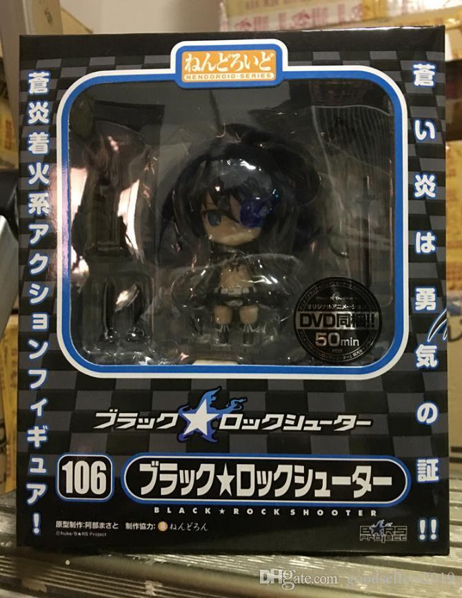 4 дюймов Nendoroid черный рок шутер лезвие версия Мику милый фигурку модель игрушки подарки