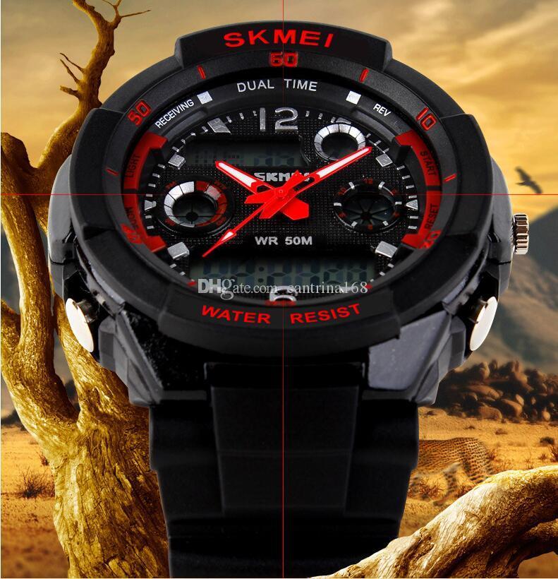 Compre Skmei Marca 0931 Reloj Deportivo Hombres Relojes De Pulsera ... ab8dd46bbce0