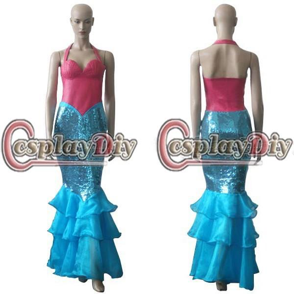Cheap Custom Madethe Little Mermaid Dress Cosplay Costume For Christmas And Halloween Party High Quality Factory Directly Sale Child Costumes Group ...  sc 1 st  DHgate.com & Cheap Custom Madethe Little Mermaid Dress Cosplay Costume For ...