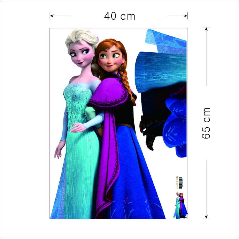 Ome Theater Projector Screen Size Movie Elsa Anna Wall Stickers