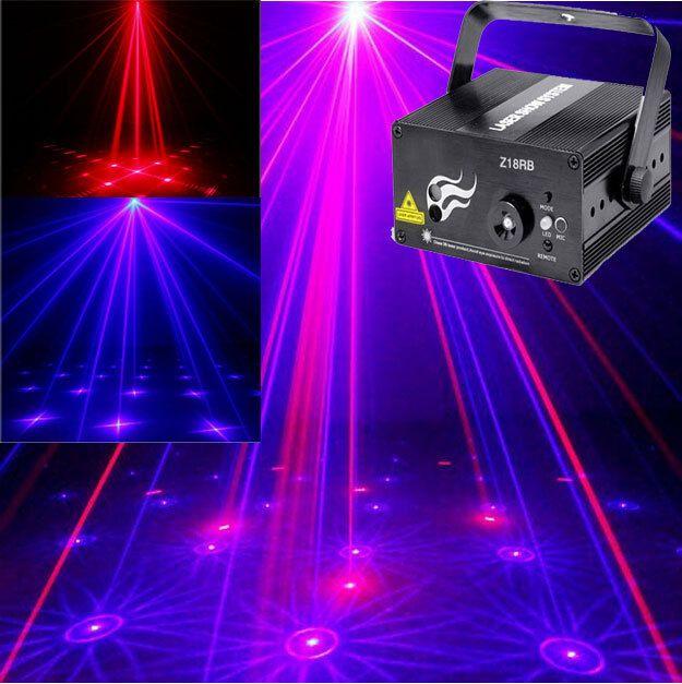 New Upgrade Laser Blue Mini Laser Led Projector Stage Holographic Light