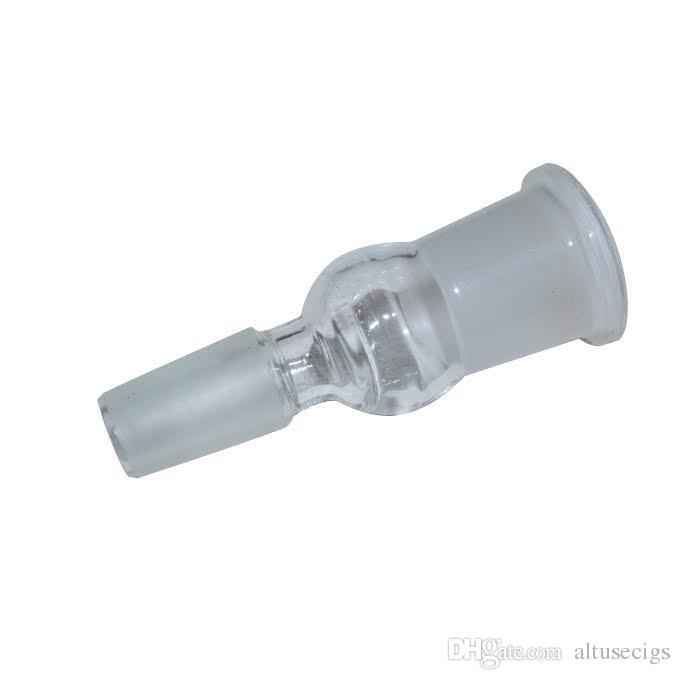14.5mm 18.8mm Erkek Kadın Cam Adaptörü Cam Strainght Ortak Cam Bongs Adaptörü 14mm 19mm Cam Dönüştürücü Dab için Rigs