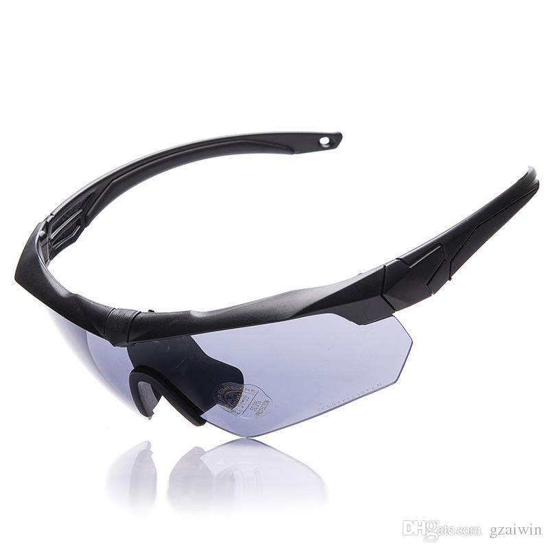 048c0ec057 2019 ESS Crossbow Military Bullet Proof Tactical Goggles Army Sunglasses  Eyewear Bicycle Glasses With 3 Lens Original Retail Box From Gzaiwin
