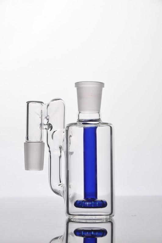 EM ESTOQUE 18 milímetros de vidro Ash Catcher Cachimbos Acessórios água Bong de Vidro Grosso ashcatcher para narguilé Shisha água de vidro