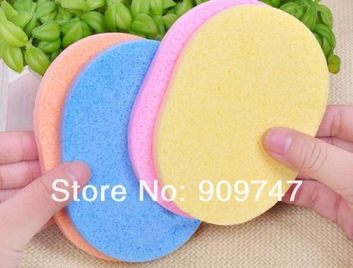 Magic Face Cleaning Wash Pad Puff Seaweed Cosmetic Puff Cleansing facial flutter wash face sponge makeup tools