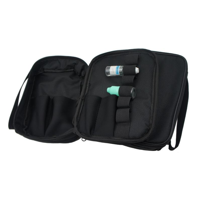 Vape Carry Bag Vapor Pocket Double Deck Case Ecig Carrying Bag with Shoulder Strap For RDA RTA RBA Mech/Box Mod All ecigs