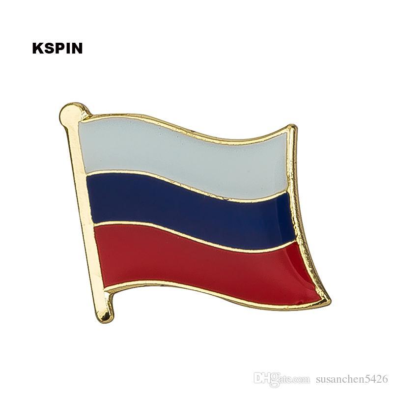 필리핀 국기 옷 깃 핀 플래그 배지 옷 깃 핀 배지 브로치 KS-0059