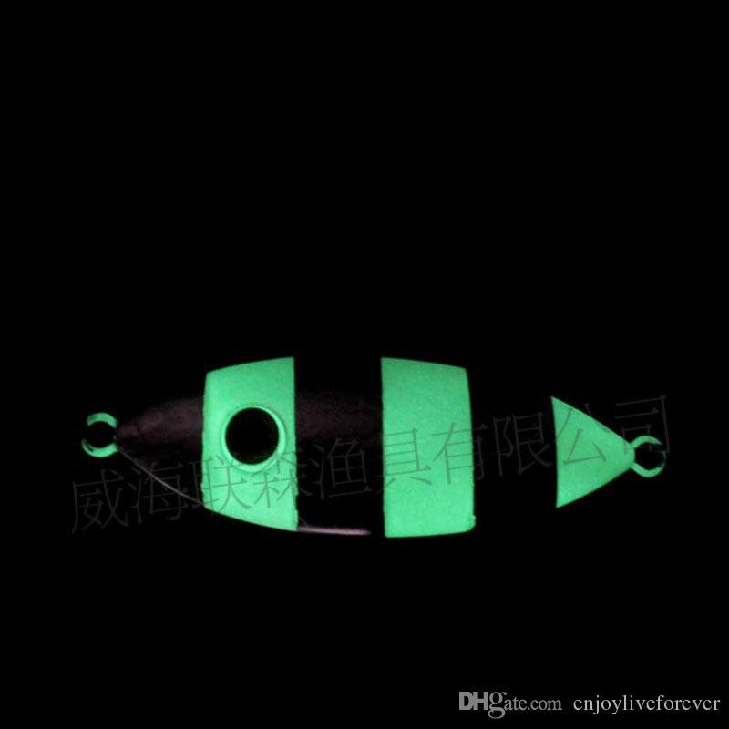 Slow Jigs Lead Fish Fishing Lure 80g 100g 160g 200g Artificial Lead Hard Baits 12cm Metal Lifelike Fishing Baits for Deep Sea