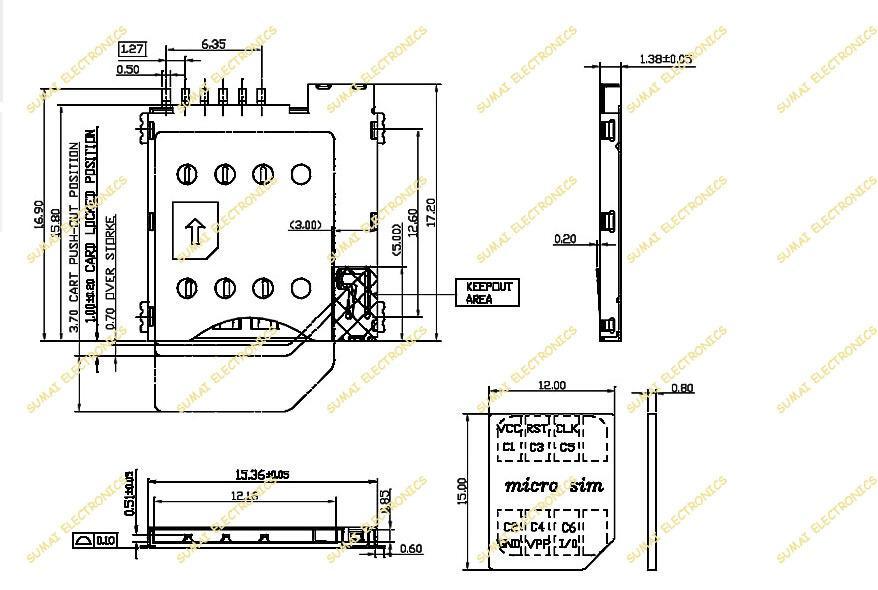 Micro Sd Card Reader Circuit Diagram Diy Enthusiasts Wiring Diagrams